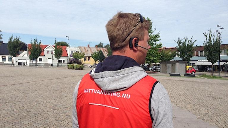 Mikael Olsson, nattvandrare Hörby