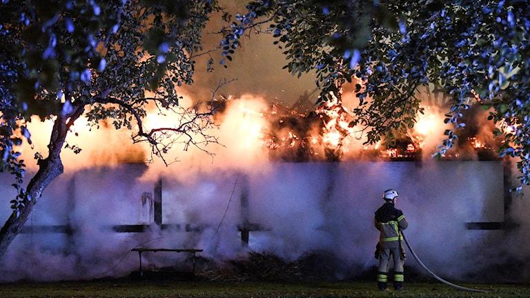 Brand Lindesgården Vellinge