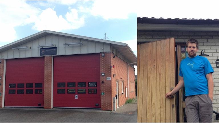 Brandstationen i Kävlinge och Joakim Kelemen