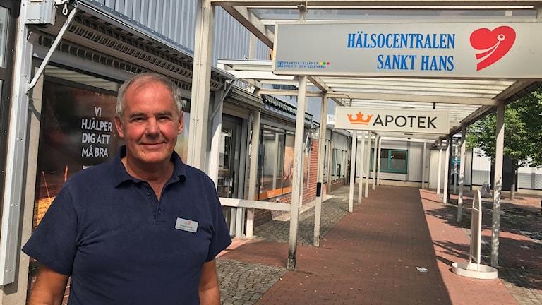 Michael Trattner, verksamhetschef på Hälsocentralen Sankt Hans i Lund. Foto: Petra Haupt/Sveriges Radio