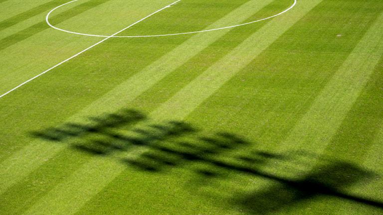 Fotbollsplan genrebild