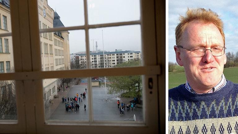 Björn Abelson är ordförande för S i Lund