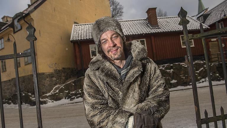 Bob Hansson uppträder i Malmö.
