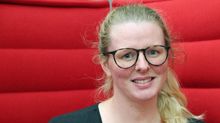 Emma Ernemar, en av många kvinnor som gått genom upprepade missfall. Foto: Hans Zillén/Sveriges Radio.