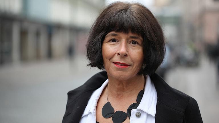 Cecilia Sahlström, före detta polis som sadlade om till författare.