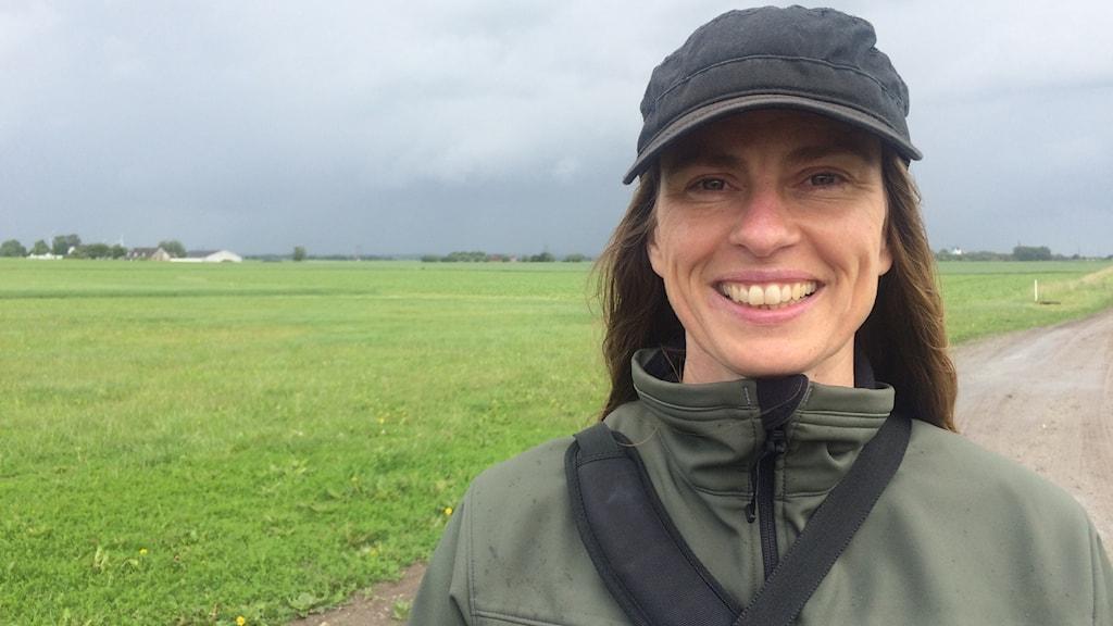 Linda-Maria Mårtensson, forskare på SITES Lönnstorp