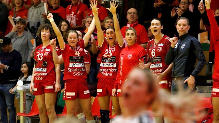 H65 Höör vinner på hemmaplan i första SM-semifinalen.