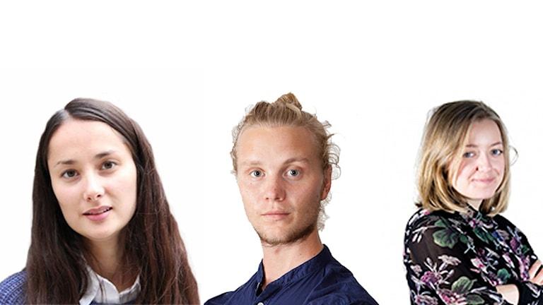 Felicia Green, Simon Appelqvist och Lisa Bergenfelz nomineras till posterna som Lundagårdsredaktörer.