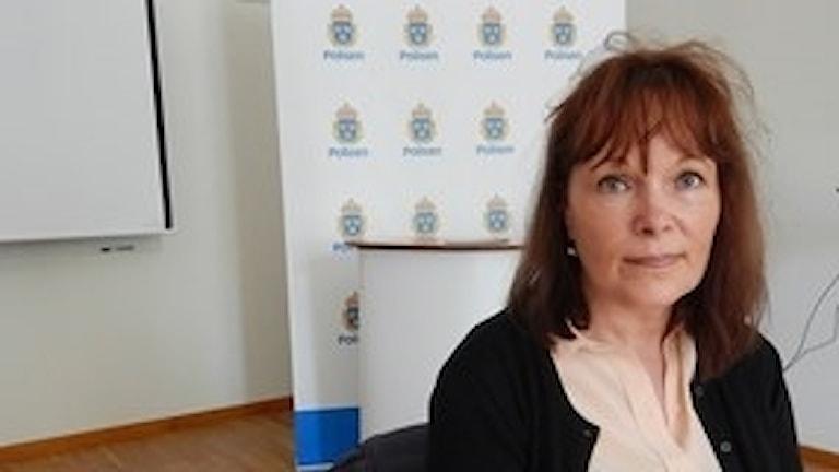 Eva Von Vogelsang, chef för gärningsmannaprofilgruppen