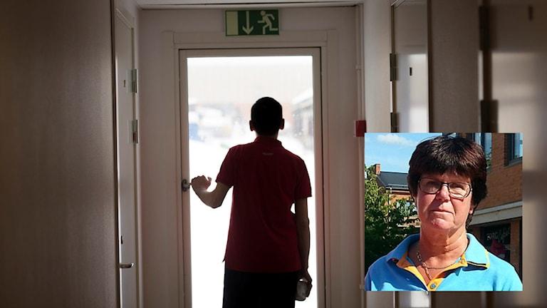 Pia Almström är bekymrad över regeringens förslag om att sänka ersättningen för mottagandet av ensamkommande.