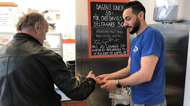Café David på Skåne Stadsmission.