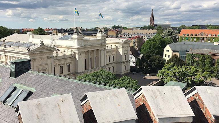 Utsikt från Kungshuset