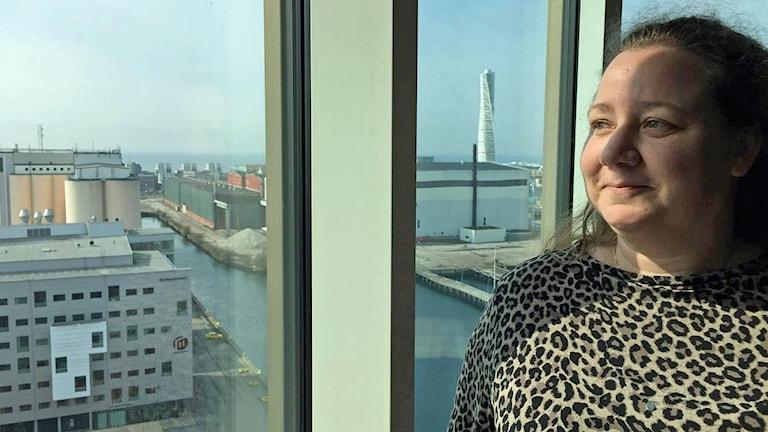 Paula Pragert är planeringschef för Malmö Högskola. Foto: Sandra Jakobsson/Sveriges Radio.