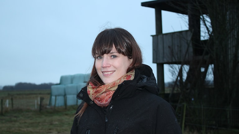Sanna Lynghed, projektledare Foto: Malin Thelin/Sveriges Radio