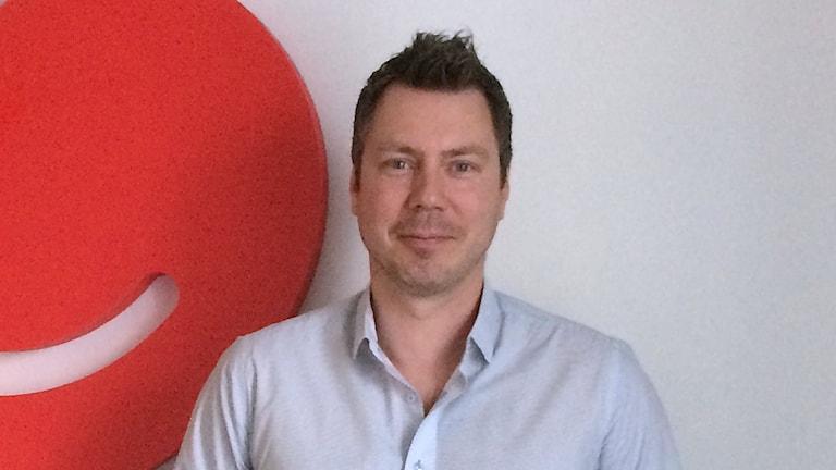Daniel Persson, affärsutvecklingsansvarig på Min doktor.