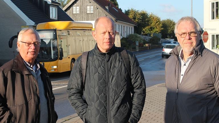 Lennart Kristensson, Mats Jönsson och Lennart Olsson