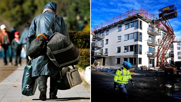 Trots att Malmö stad har lovat krafttag så ökar hemlösheten. Foto: TT