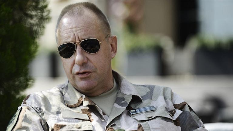 Jan Thörnqvist, insatschef vid Försvarsmakten.