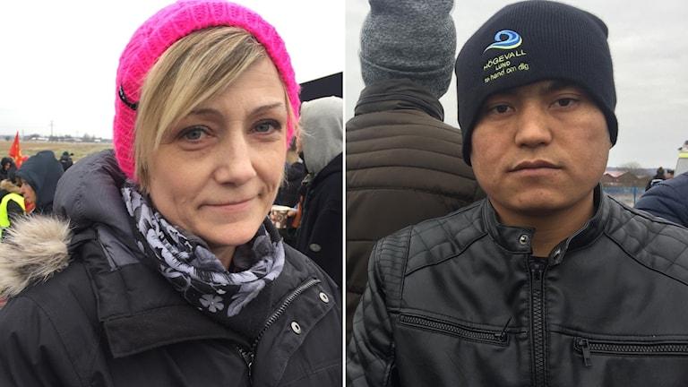 Helena Nielsen och Nawros oroar sig för Moshtaba Habibi som nu verkar få stanna. Foto: Anna Hanspers/Sveriges Radio