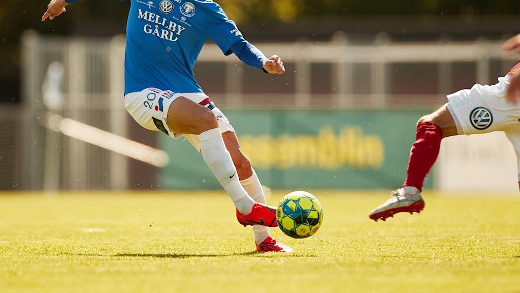 Fotbollsspelare.