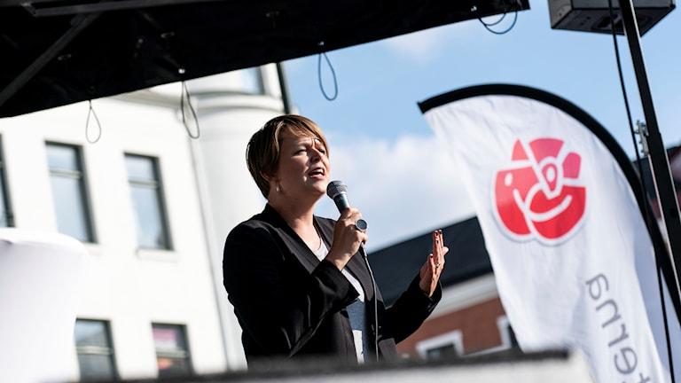 Katrin Stjernfeldt Jammeh, kommunstyrelsens ordförande i Malmö.