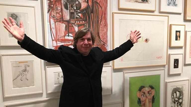 Konstnären George Condo.