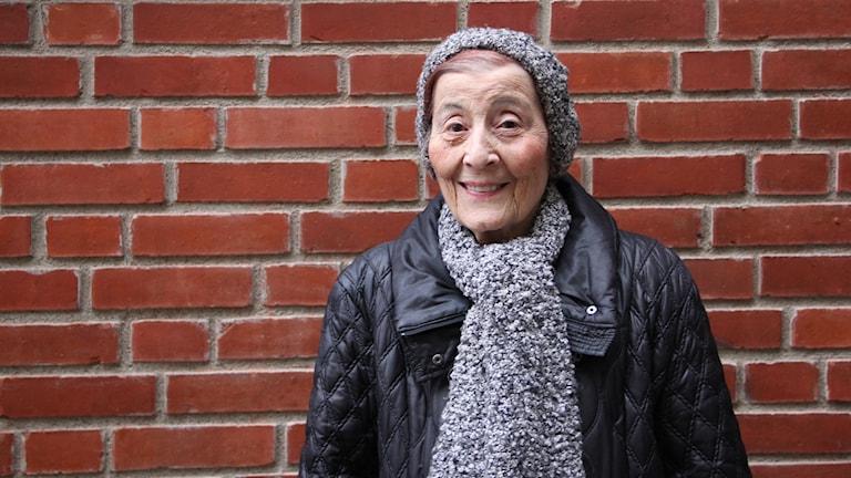 Anna Grüner flydde från Danmark 1943 tillsammans med sin familj