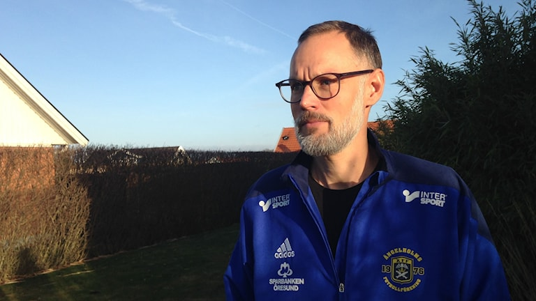 Fredrik Lundwall, tränare flickor födda 07 i Ängelholms FF.