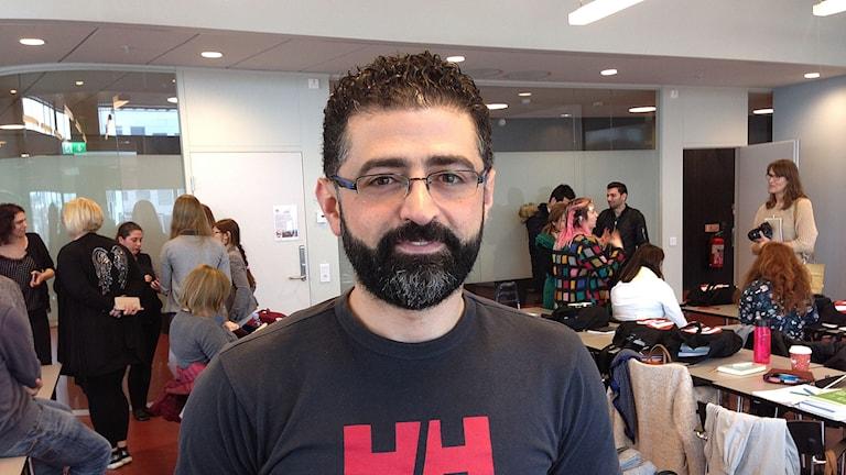 Rafeh Aldarwish är ekonom från Homs i Syrien.