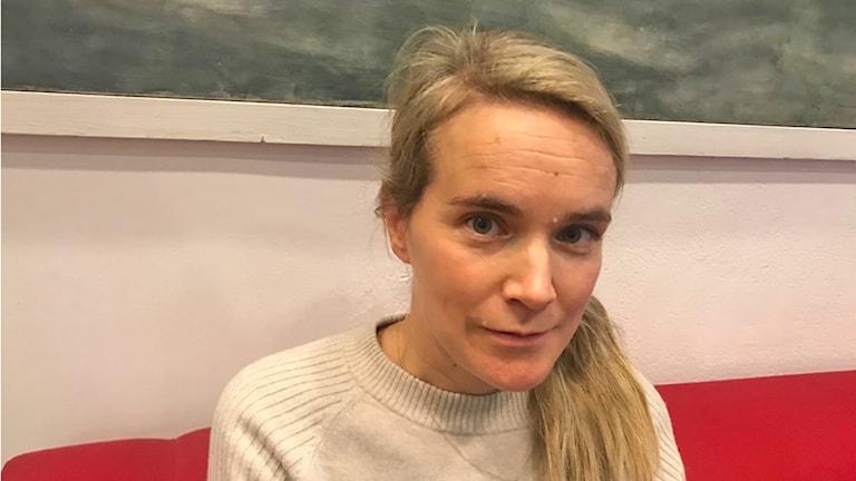 Anna-Karin Ivert, forskare på institutionen för kriminologi på Malmö Högskola