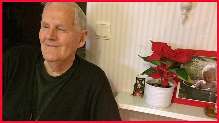 Bertil Andersson, nöjd 85-åring i Malmö. Foto: Sofie Ericsson/Sveriges Radio.