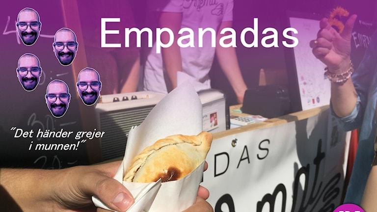 Det händer grejer när Victor smakar empanadas.