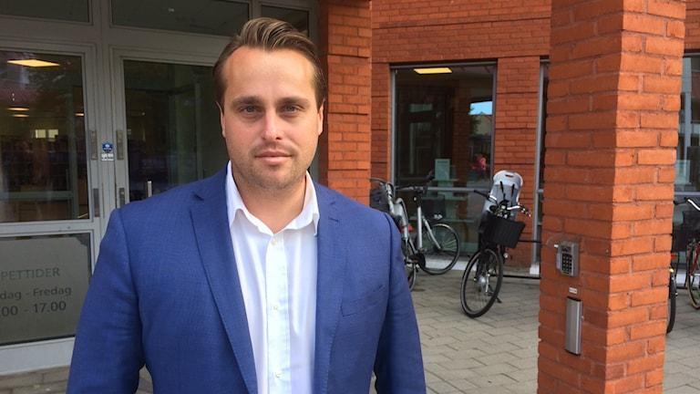 Christian Sonesson (M), kommunstyrelsens ordförande i Staffanstorp.