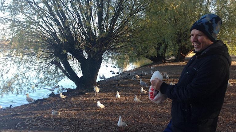Benjamin Mehinagic matar fåglar