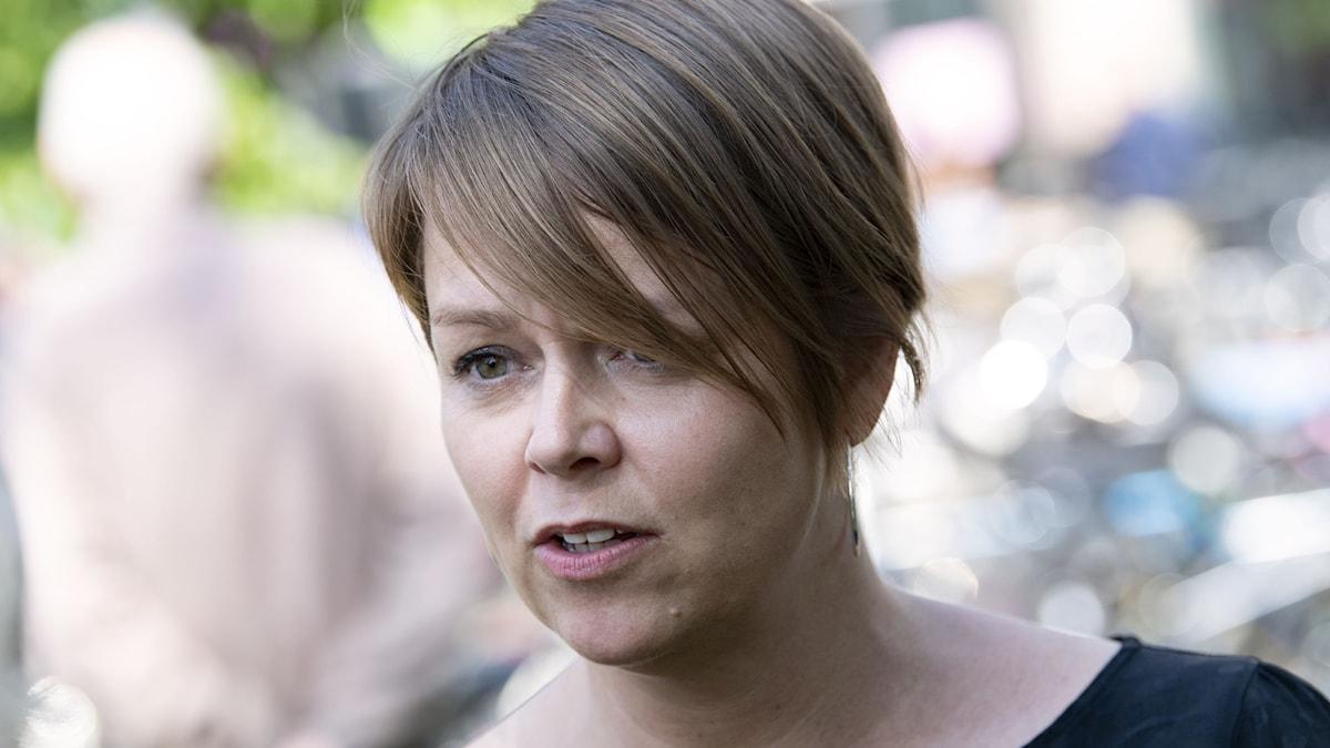 Builden visar Katrin Stjernfeldt Jammeh (S), ordförande för kommunstyrelsen i Malmö.