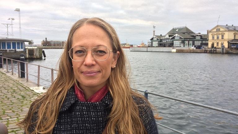 Ana Skagersten Åkesson, operationssjuksköterska i Helsingborg. Foto: Petra Haupt/Sveriges Radio
