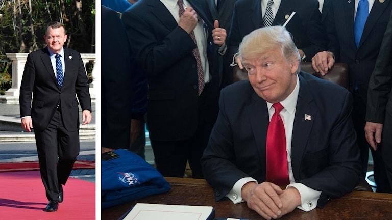 Lars Løkke Rasmussen besöker Trump