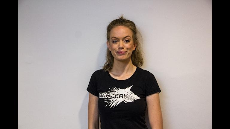 Sara Andersson är en av projektledarna bakom hinderbaneloppet Berzerk