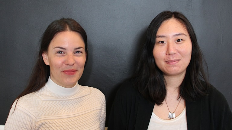 Danica Tjaganic och Clarissa Grace Chang.