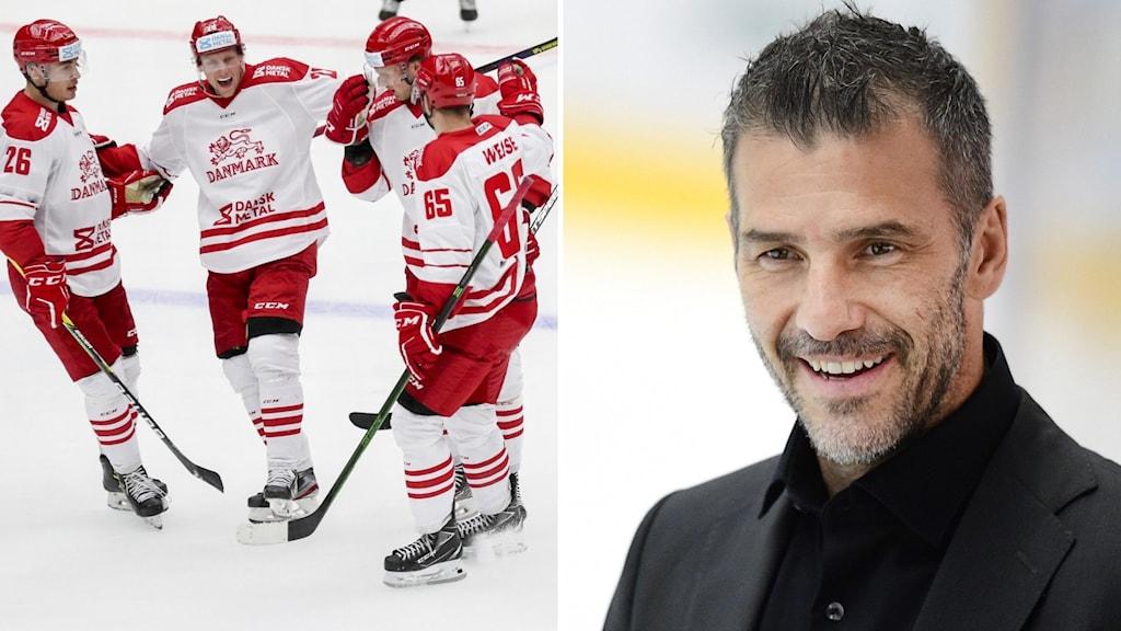 Danska hockeyspelare