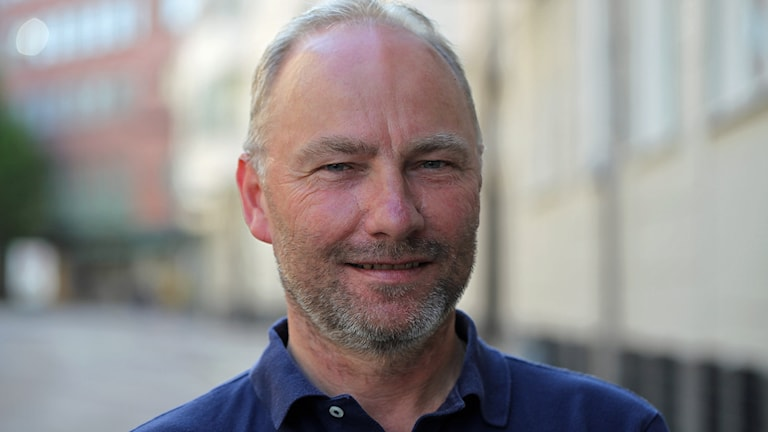 Jörgen Berggren, domaransvarig, Skånes fotbollförbund. Foto: Karin Genrup/Sveriges Radio