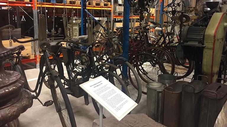 Cyklar från olika tider