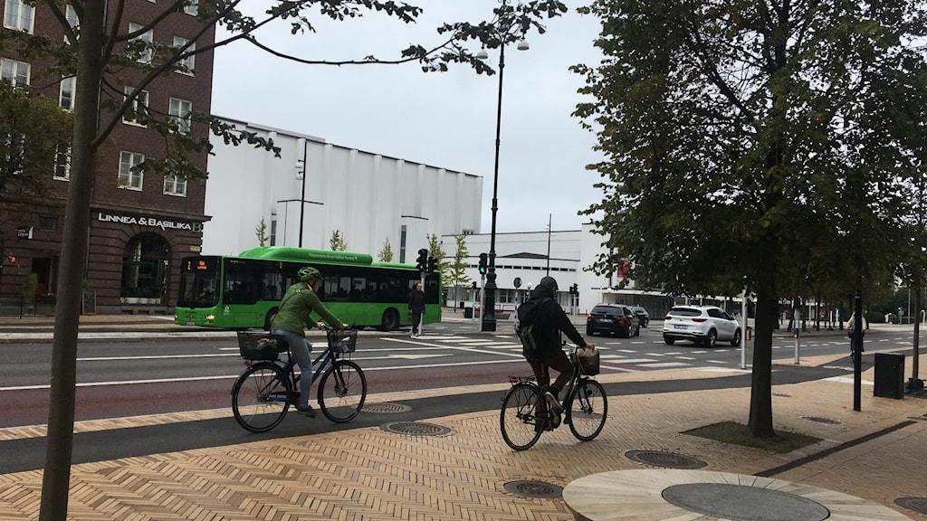 Cyklandet är på uppgång i Helsingborg.