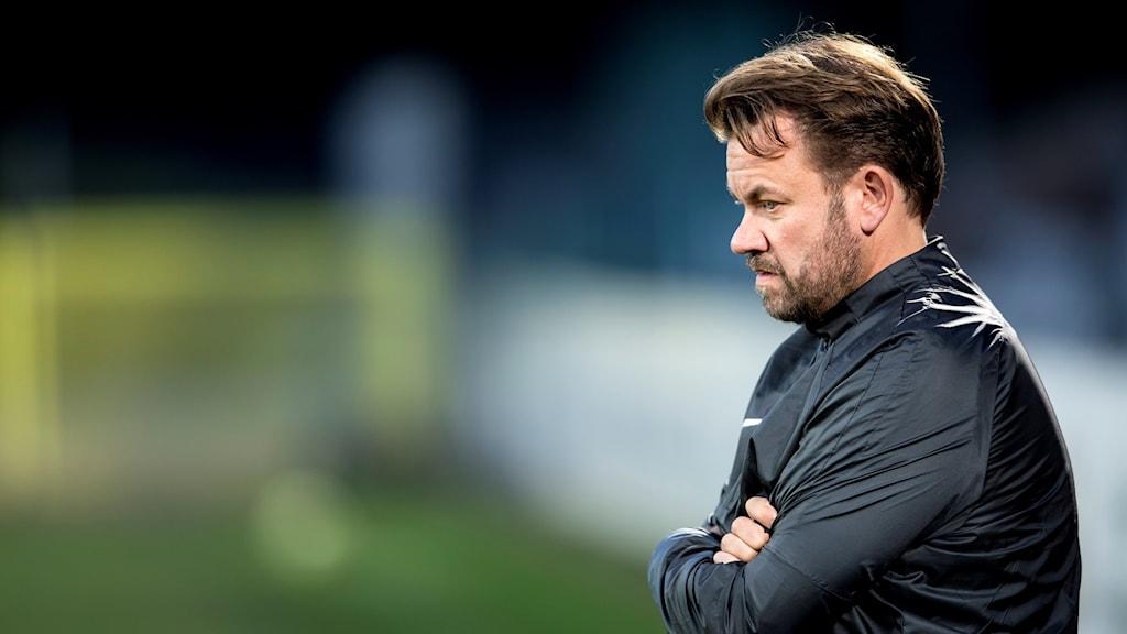 Landskronas tränare Jack Majgaard Jensen.