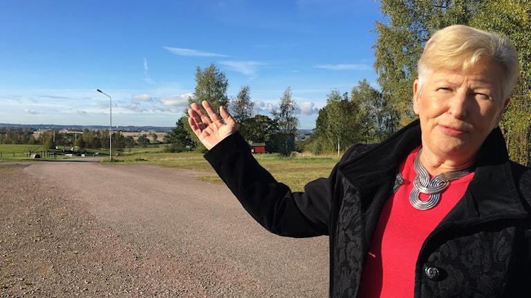 Moderaten Margareta Pålsson tycker inte att den politiska gången varit rätt i markfrågan