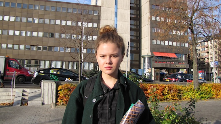 Valet: Hanna Elffors Elfström (Foto: Lina Johansson/SR)