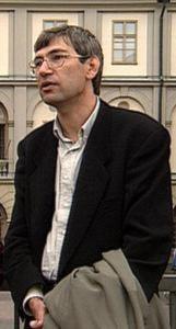 Orhan Pamuk (SVT Bild)