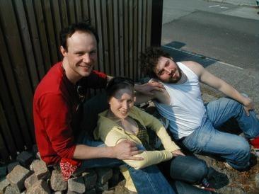 Matthias Thorbjörnsson, Karin Lithman samt Johannes Wanselow (Foto: Sten Lundström)