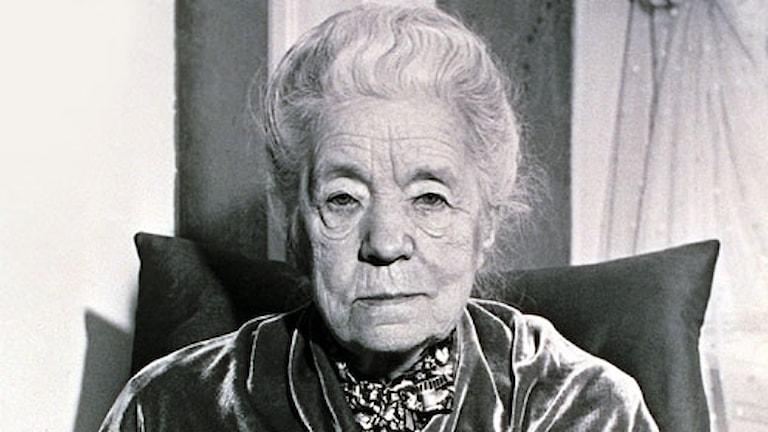 Selma Lagerlöf (Foto: SVT Bild)