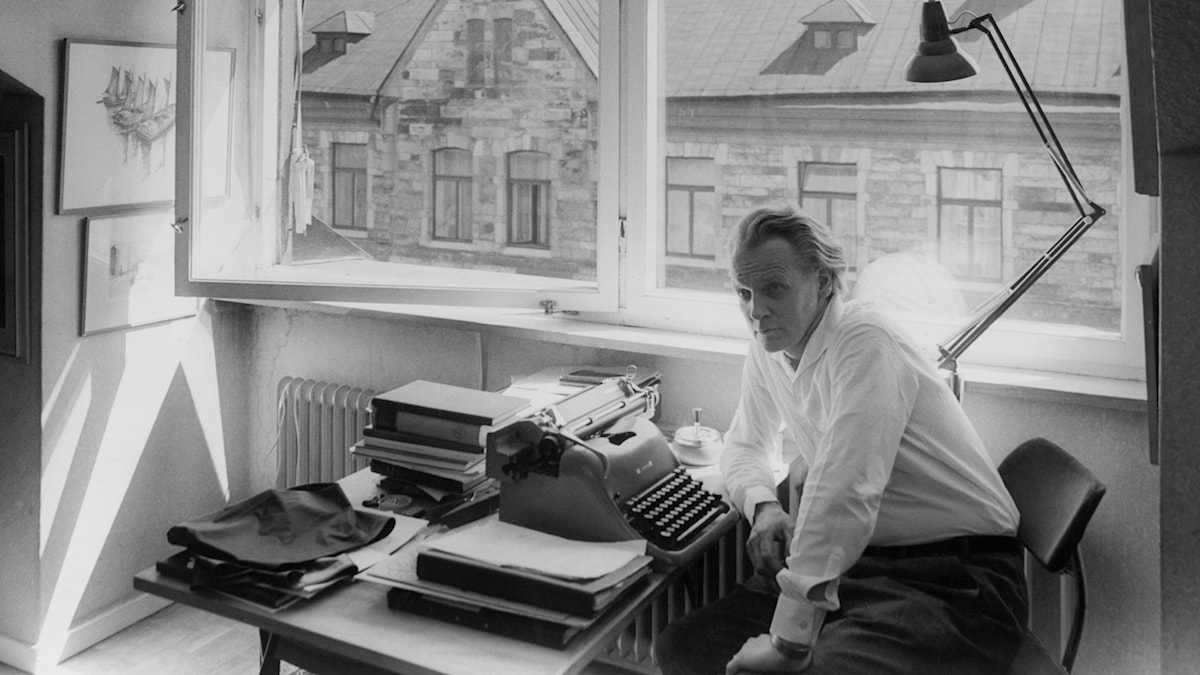 Per Anders Fogelström 1963 (Foto: Olle Karud/SVT Bild)